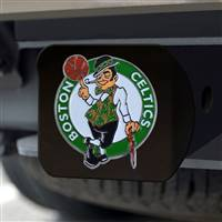 "NBA - Boston Celtics Hitch Cover - Color on Black 3.4""x4"""