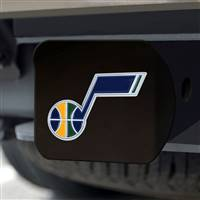 "NBA - Utah Jazz Hitch Cover - Color on Black 3.4""x4"""