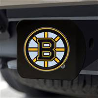 "NHL - Boston Bruins Hitch Cover - Color on Black 3.4""x4"""