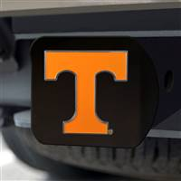 "University of Tennessee Hitch Cover - Color on Black 3.4""x4"""