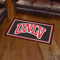 "University of Nevada, Las Vegas (UNLV) 3x5 Rug 36""x 60"""