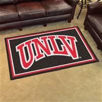 "University of Nevada, Las Vegas (UNLV) 4x6 Rug 44""x71"""
