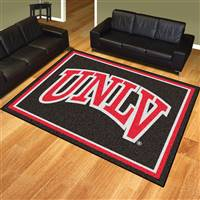 "University of Nevada, Las Vegas (UNLV) 8x10 Rug 87""x117"""