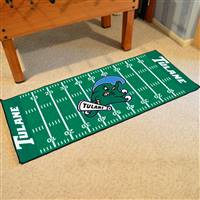 "Tulane University Football Field Runner 30""x72"""