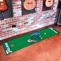 "Tulane University Putting Green Mat 18""x72"""