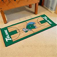 "Tulane University NCAA Basketball Runner 30""x72"""