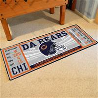 "NFL - Chicago Bears Ticket Runner 30""x72"""