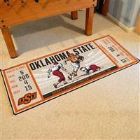 "Oklahoma State University Ticket Runner 30""x72"""