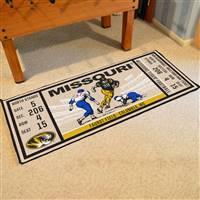 "University of Missouri Ticket Runner 30""x72"""