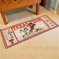 "Texas Tech University Ticket Runner 30""x72"""