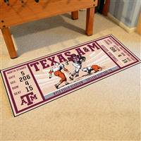 "Texas A&M University Ticket Runner 30""x72"""