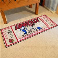 "University of Louisville Ticket Runner 30""x72"""