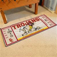 "University of Southern California Ticket Runner 30""x72"""