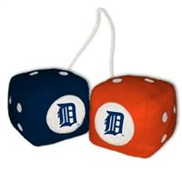 Detroit Tigers Fuzzy Dice - Special Order