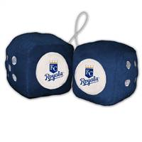 Kansas City Royals Fuzzy Dice - Special Order
