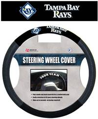 Tampa Bay Rays Steering Wheel Cover Mesh Style