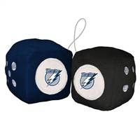 Tampa Bay Lightning Fuzzy Dice - Special Order