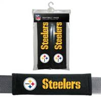 Pittsburgh Steelers Seat Belt Pads Velour