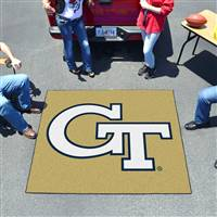 "Georgia Tech Yellow Jackets Tailgater Rug 60""x72"""