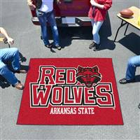 "Arkansas State Red Wolves Tailgater Rug 60""x72"""