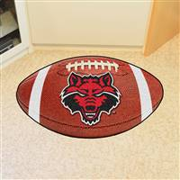 "Arkansas State Red Wolves Football Rug 22""x35"""