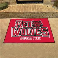 "Arkansas State Red Wolves All-Star Rugs 34""x45"""