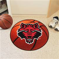 "Arkansas State Red Wolves Basketball Rugs 29"" Diameter"