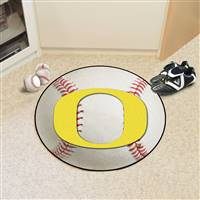 "University of Oregon Baseball Mat 27"" diameter"