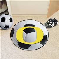 "University of Oregon Soccer Ball Mat 27"" diameter"