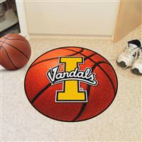 "Idaho Vandals Basketball Rug 29"" diameter"