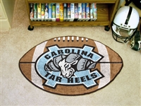 "North Carolina Tar Heels Football Rug 22""x35"""