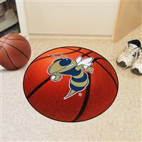 "Georgia Tech Basketball Mat 27"" diameter"