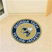 "Georgia Tech Roundel Mat 27"" diameter"