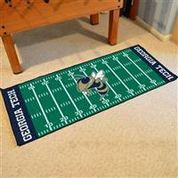 "Georgia Tech Football Field Runner 30""x72"""