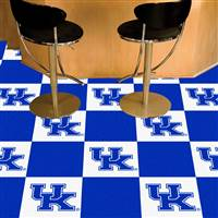 "University of Kentucky Team Carpet Tiles 18""x18"" tiles"
