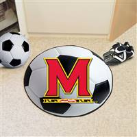 "University of Maryland Soccer Ball Mat 27"" diameter"