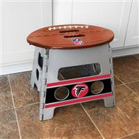 "NFL - Atlanta Falcons Folding Step Stool   14""x13"""