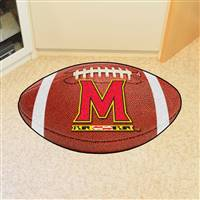 "University of Maryland Football Mat 20.5""x32.5"""