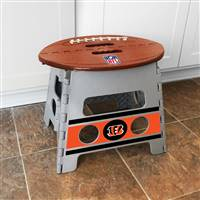 "NFL - Cincinnatti Bengals Folding Step Stool   14""x13"""