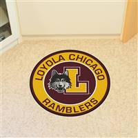 "Loyola University Chicago Roundel Mat 27"" diameter"
