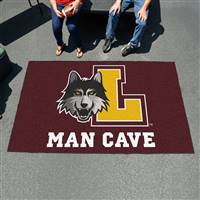 "Loyola University Chicago Man Cave UltiMat 59.5""x94.5"""