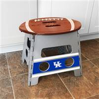 "University of Kentucky Folding Step Stool   14""x13"""