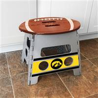 "University of Iowa Folding Step Stool   14""x13"""