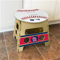 "St. Louis Cardinals Folding Step Stool   14""x13"""