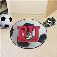 "Boston University Soccer Ball Mat 27"" diameter"