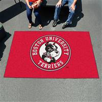 "Boston University Ulti-Mat 59.5""x94.5"""