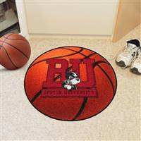 "Boston University Basketball Mat 27"" diameter"