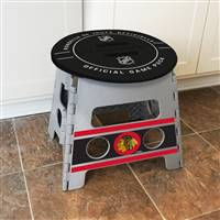 "NHL - Chicago Blackhawks Folding Step Stool   14""x13"""