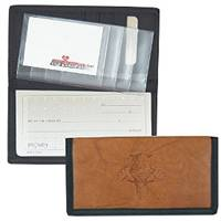 Florida Panthers Leather/Nylon Embossed Checkbook Cover