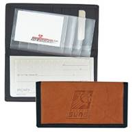 Phoenix Suns Leather/Nylon Embossed Checkbook Cover
